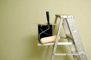 paint & ladder